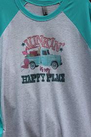 Vintage style raglan t shirt