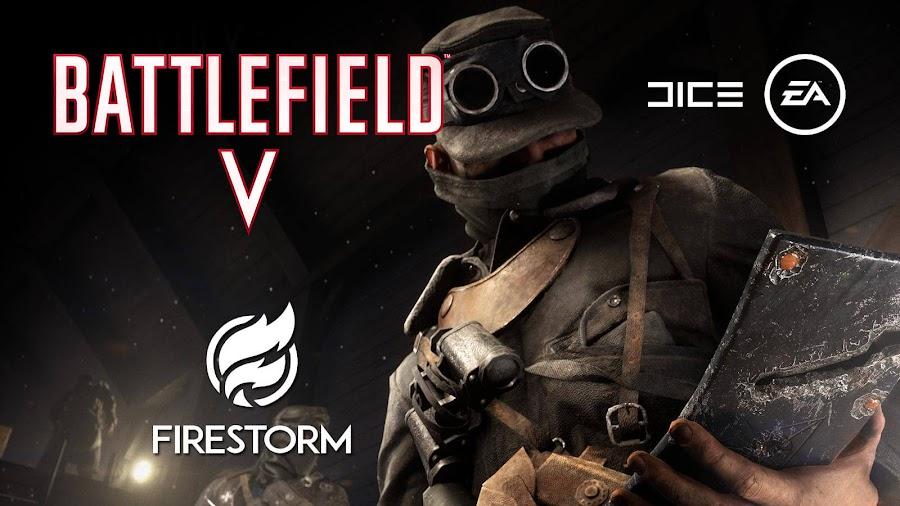 battlefield 5 firestorm battle royale gameplay trailer xb1