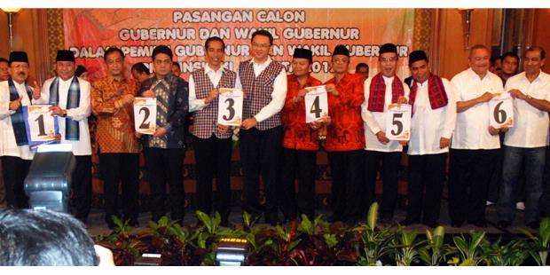 Pemenang Hasil Quick Count Pilkada DKI Jakarta 2012