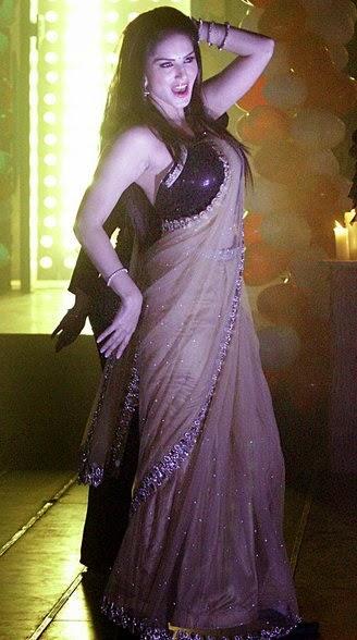 Photofunmasti Sunny Leone - Hot Pics In Saree With Tv Stars-4541