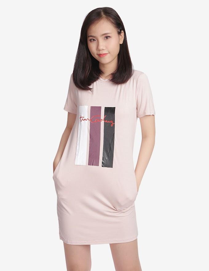 Đầm Ngủ B15 T&D Màu Hồng