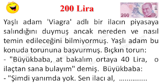 200 Lira - Fena Fıkralar - Komikler Burada