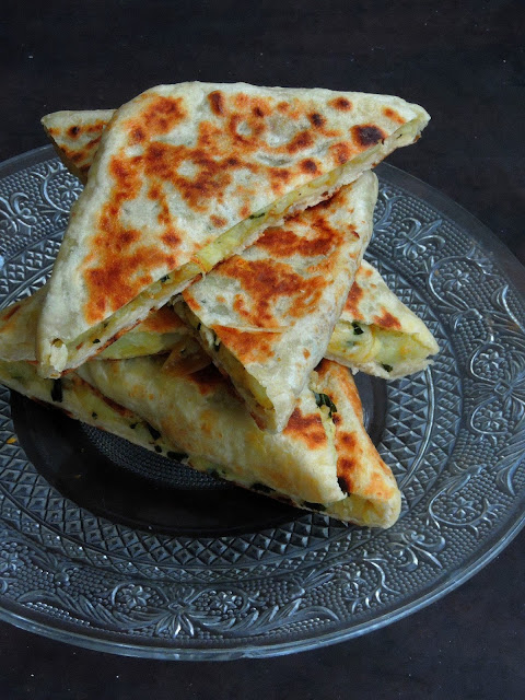 Potato & Cheese Gozleme