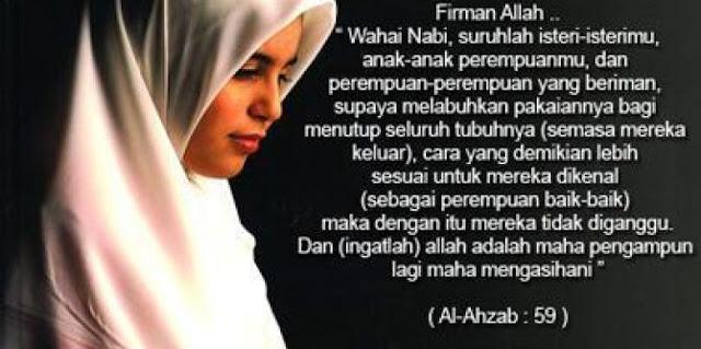 Hukum Lepas Pasang Jilbab, Dosanya Sungguh Berat! Hati-hatilah Wahai Wanita