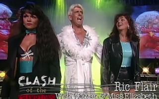 WCW Clash of the Champions 33 1996 REVIEW - Ric Flair challenged Hulk Hogan for the WCW Championship