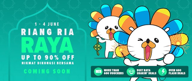 Lazada Riang Ria Raya Sales!