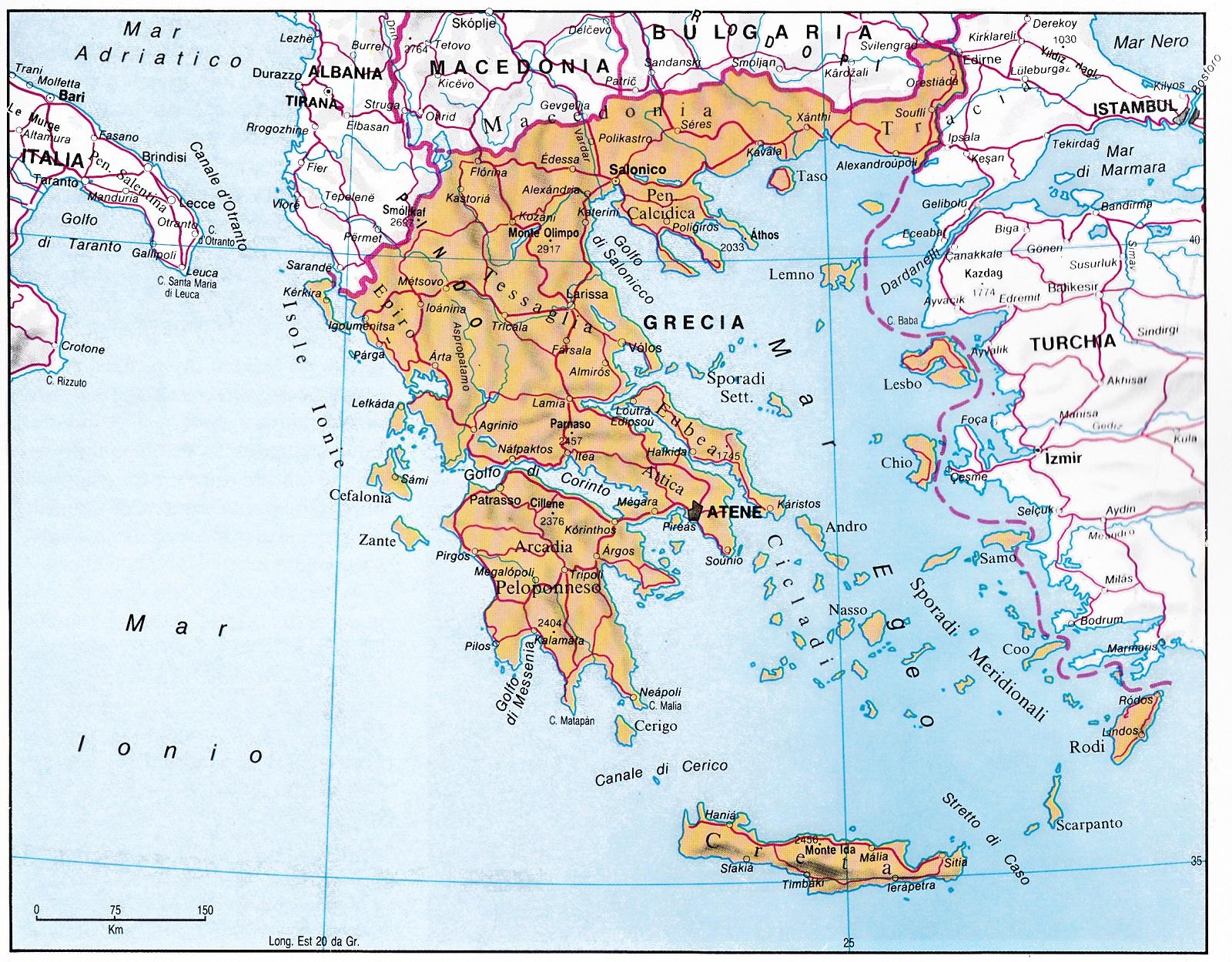 Cartina Della Grecia Con Isole.Isole Della Grecia Rodi Santorini Lefkada Creta Mikonos Cefalonia Corfu Islands Of Greece Blog Di Pociopocio