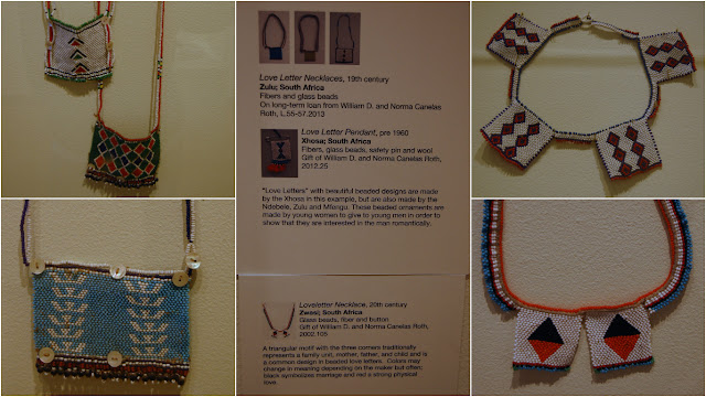 Orlando Museum of Art Art that Speaks Exhibition African Art Love Note Necklaces Zulu Xhosa South Africa