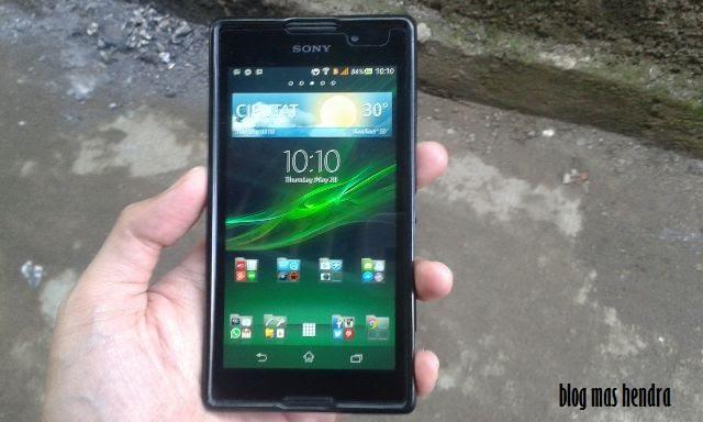 Handphone Sony Xperia C - Blog Mas Hendra