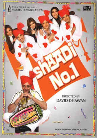 Shaadi No 1 2005 HDRip 350MB Full Hindi Movie Download 480p Watch Online Free bolly4u