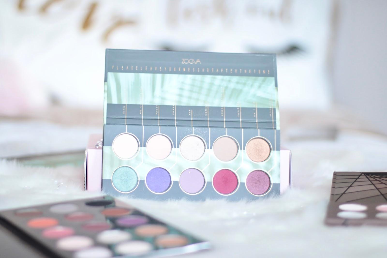 Zoeva Offline Eyeshadow Palette - Recenzja & Swatche