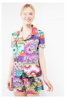 Botanical Stripes. Desigual. Camisa de pijama