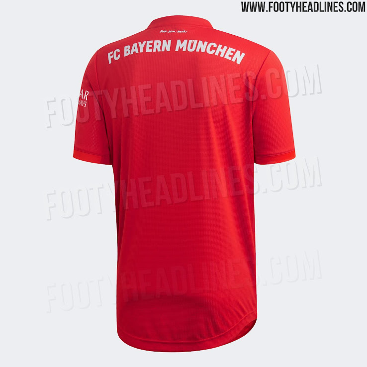 official photos 44e1e 63377 Bayern Munich 19-20 Home Kit Released - Footy Headlines