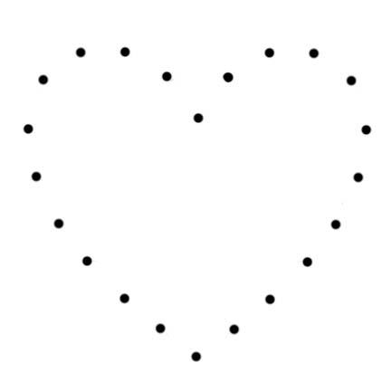 Doodlecraft Easy String Art Tutorial Heart Diamond Templates