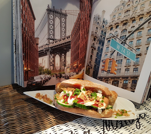 Ein Gewinn - Ein Abstecher nach New York - weltbester Veggi Hot Dog
