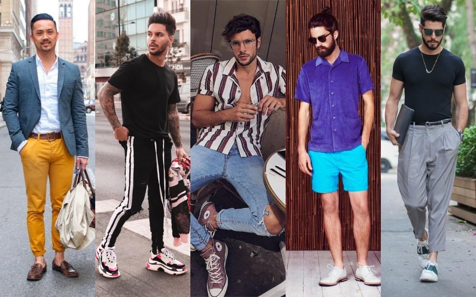 4a2e669526 10 Tendências da Moda Masculina Primavera Verão 2018 2019 - Blog ...