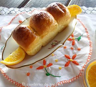Brioche de aceite y naranja sin azúcar