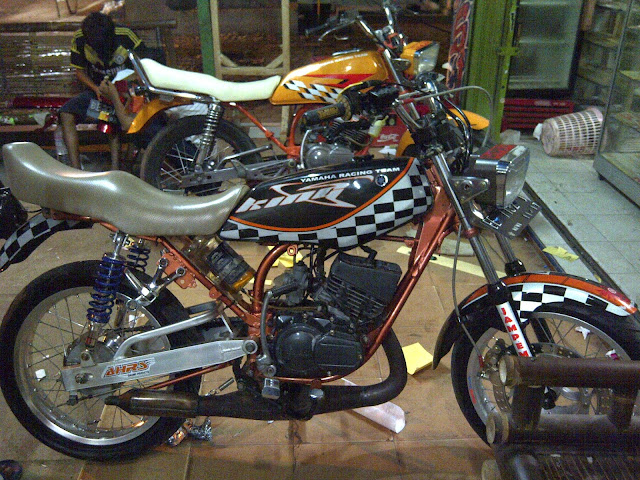Motor Yamaha RX King Modifikasi