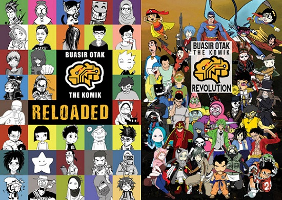 Buasir Otak: The Komik - Reloaded & Revolution