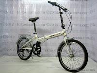 D 20 Inch TwoWheel 6 Speed Shimano Folding Bike