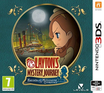 Laytons Mystery Journey Katrielle and the Millionaires Conspiracy Decrypted 3DS EUR