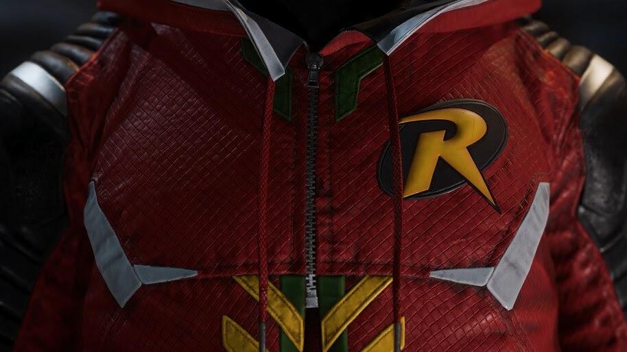 Gotham Knights, Robin, Logo, 4K, #3.2560