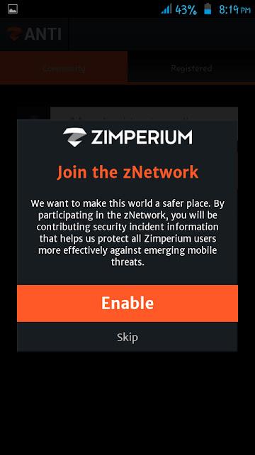 Zimperium Red