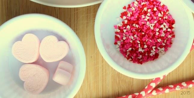 Malteada de fresa para un amor color de rosa by www.unamexicanaenusa.com