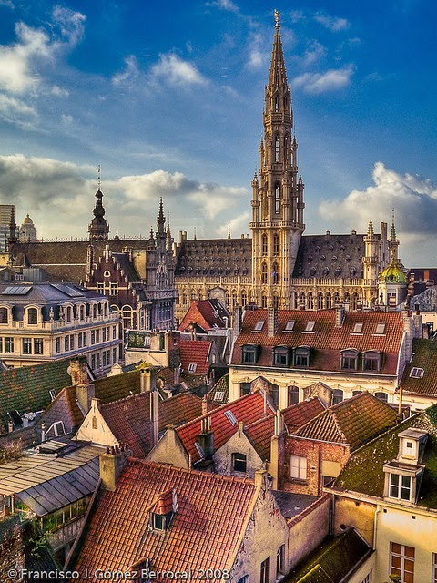 10 Best Places to Holiday in Belgium (100+ Photos) | The Town Hall of the City of Brussels