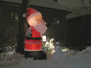 Santa & Frosty.