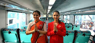 gatimaan express train hostess