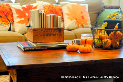 Fall Decor Inside and Out