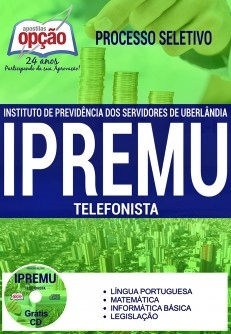 Apostila IPREMU 2017 Telefonista