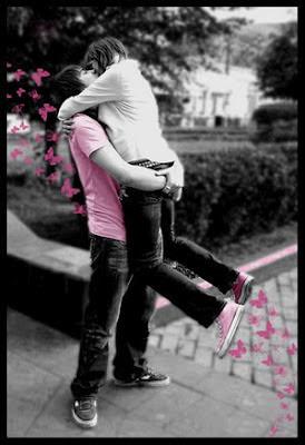 خلفيات رومانسية حزينة 2016 رومانسية couple_hugging_butte
