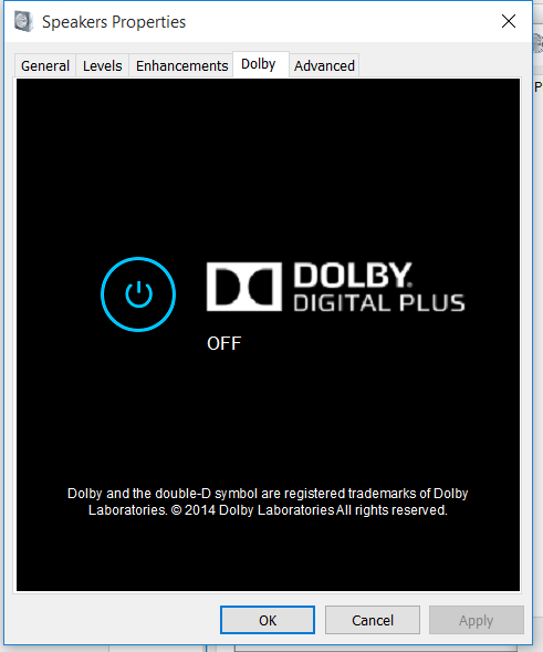 Dolby Digital Plus Issue or Sound Issue