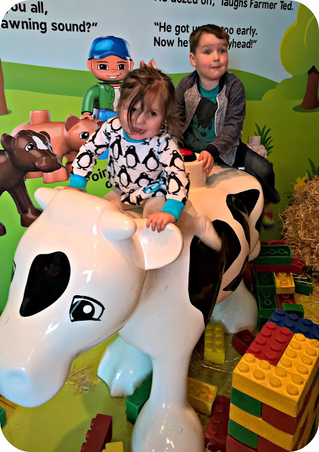 Fun Down on Duplo Farm at LEGOLAND Discovery Centre Manchester