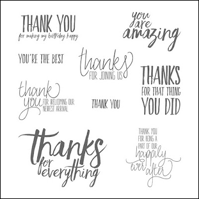 All Things Thanks Stamp Set from Stampin' Up!