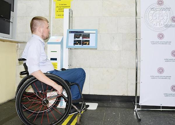 Віталій Пчолкін, представник Національної асамблеї інвалідів України