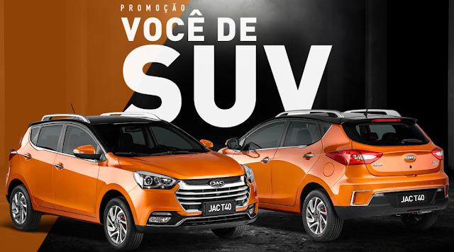 """Promoção: """"Você de SUV"""""""