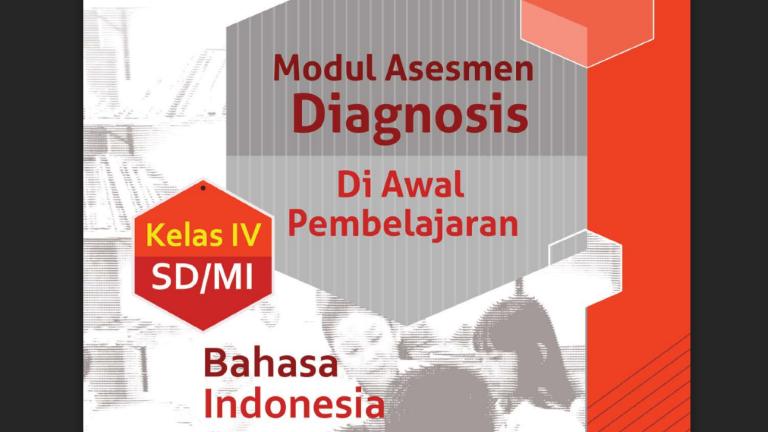 Modul Asesmen Diagnosis Awal Mapel Bahasa Indonesia SD SMP SMA