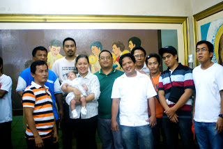 baptism at st. joseph parish talisay