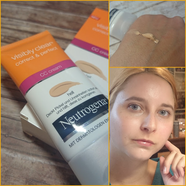 [Beauty] Neutrogena Visibly Clear Correct & Perfect CC Cream Hell