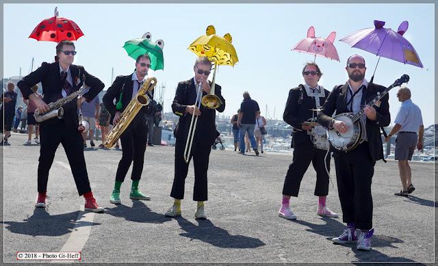 musiciens new-orleans fécamp fete de la mer 1
