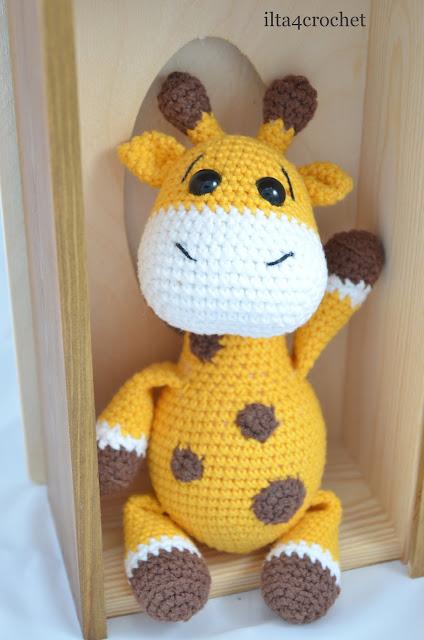 szydełko amigurumi żyrafa giraffe