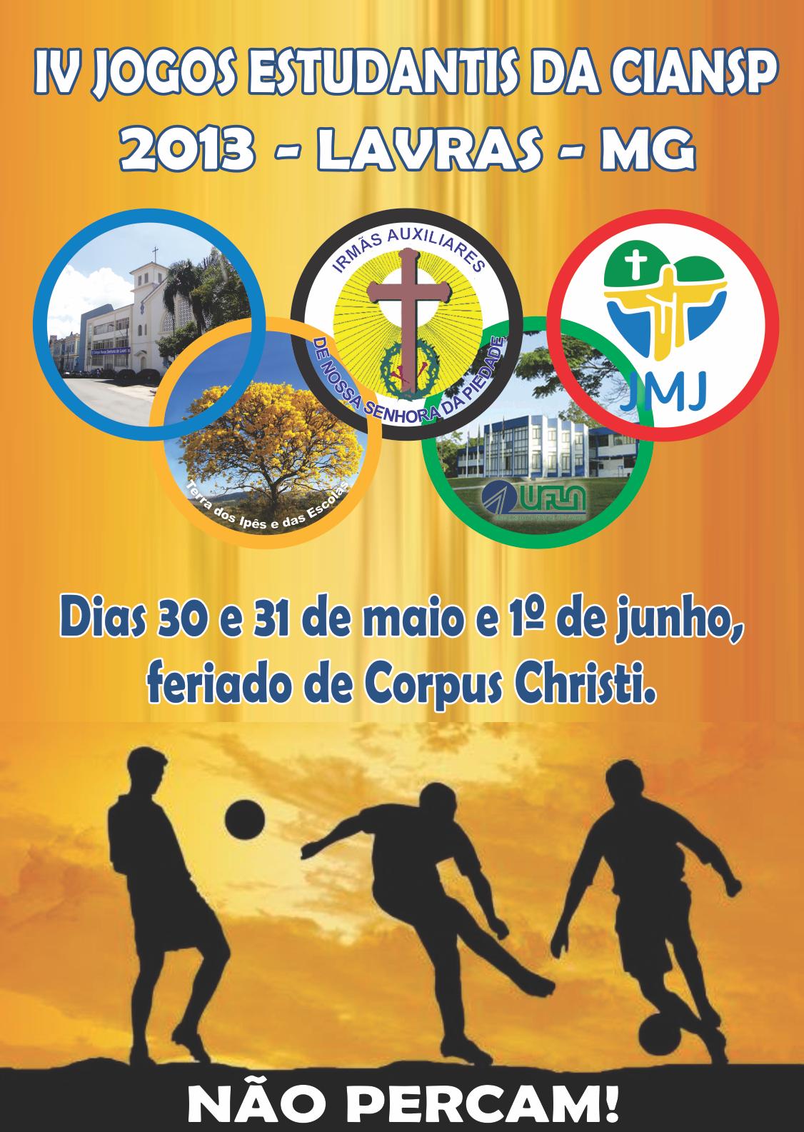 IV Jogos Estudantis da CIANSP