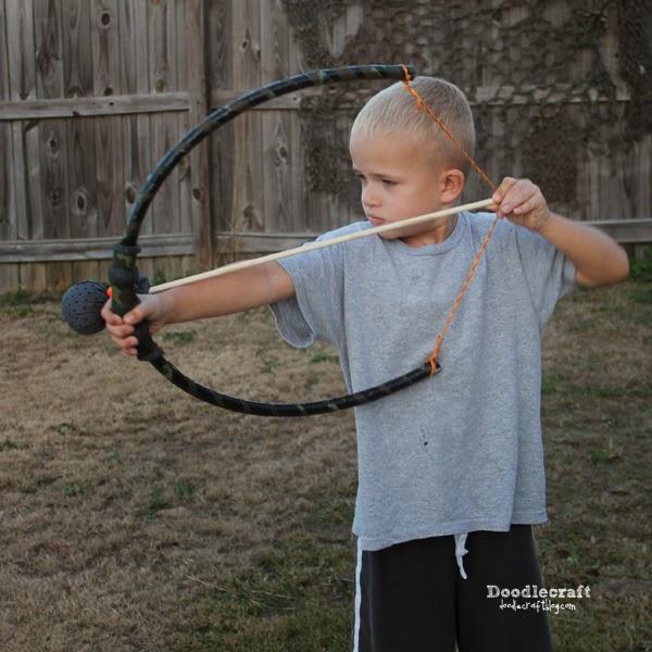 Hula Hoop Bows And Padded Arrows
