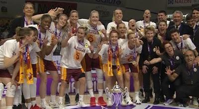 Galatasaray Euro Cup Women şampiyonu