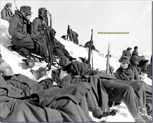 German mountain troops Caucasus mountains