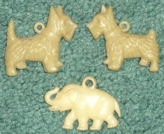 AllThingsVintage Scottie Dog And Elephant Shade Pulls