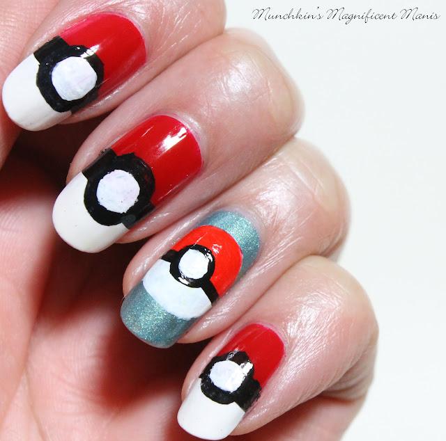 Pokémon Pikachu Nail Design